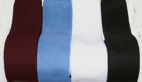 Van Buck Slim Square End Knitted Tie - Vanbucktie
